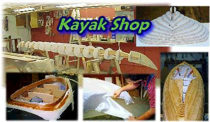 Wood Strip Kayak Shop