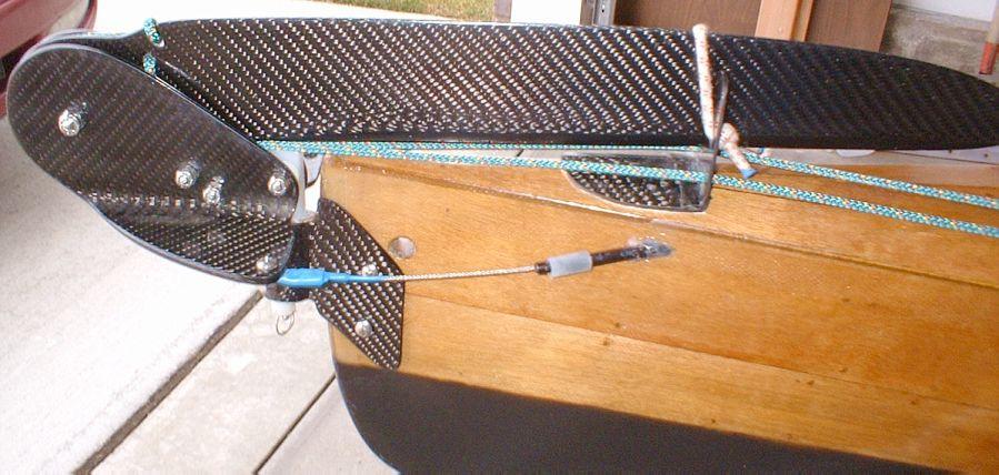 Kayak Rudder Plans - for building graphite sea kayak rudder