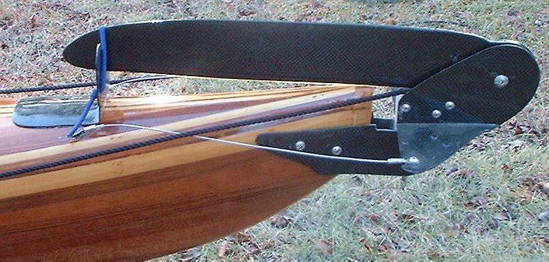 Mounting Rudder on a rudderless kayak