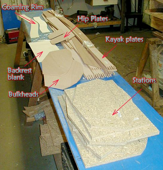 Plywood Kayak Kits Stitch And Glue Kayak Kits By One Ocean Kayaks