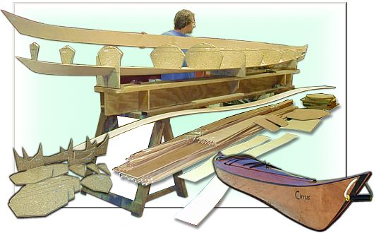 Plywood kayak kits - stitch and glue kayak kits by One Ocean Kayaks