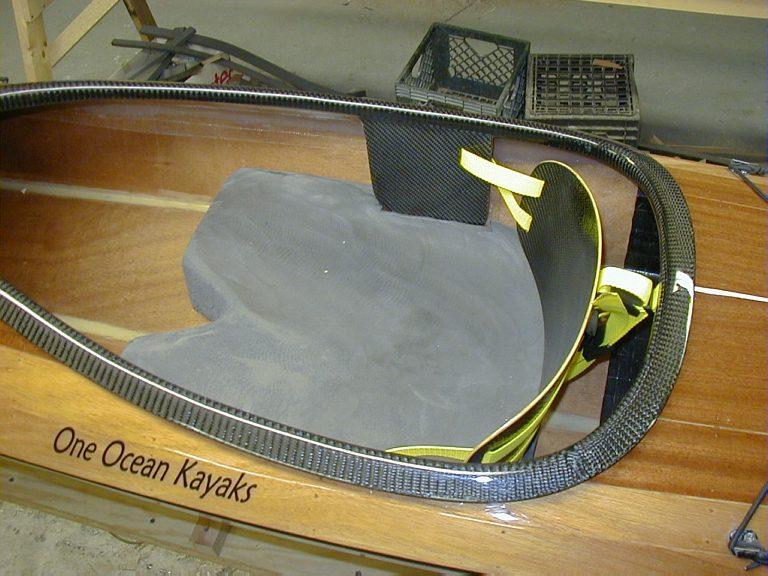 Sea Kayak Seat from Minicel foam