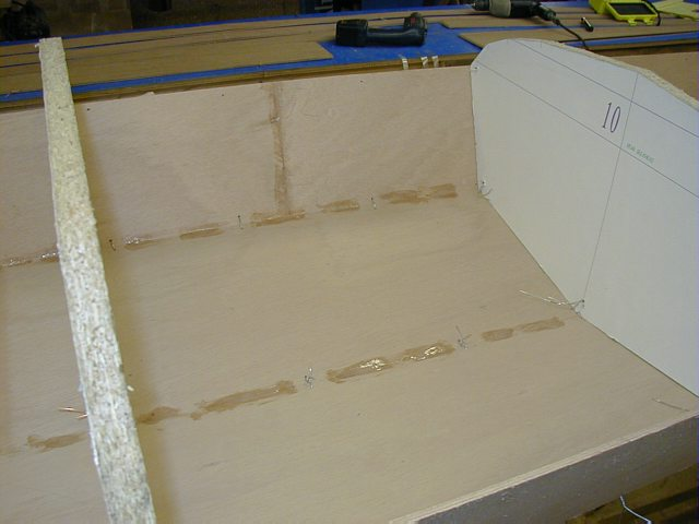 10. Stitching and filleting of kayak plates with epoxy putty