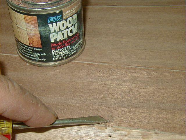 Шпаклевка для наружных работ по дереву своими руками