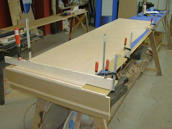 Scarfing Plywood Building sailboatsforsalecom | Crazy Aunt Purl