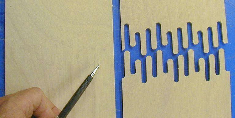 ScarfLOCK - scarf locking joints on stitch and glue kayak kits